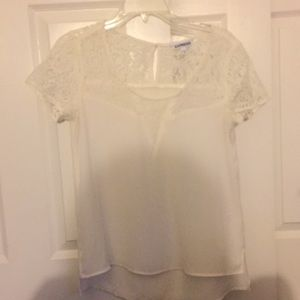 White Express blouse